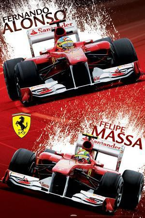 Ferrari - Alonso & Massa Paint
