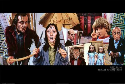 Redrum - The Art of Justin Reed