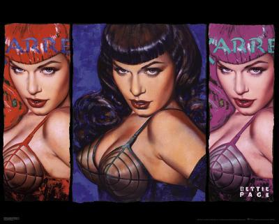 Bettie Page - Colors