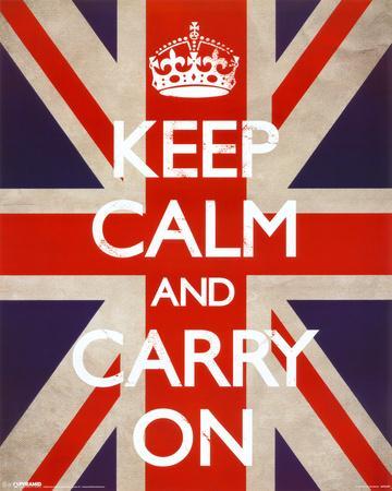Keep Calm And Carry On (Union Jack)