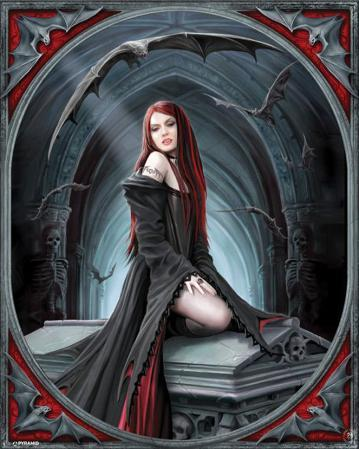 Anne Stokes (Await The Night)