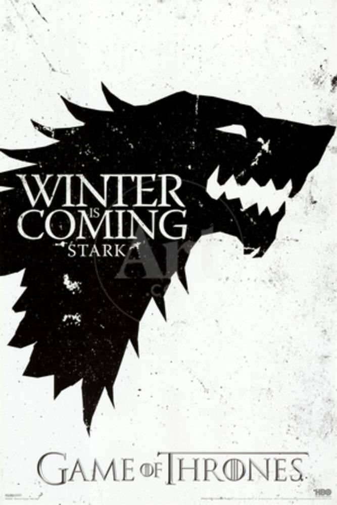 Game of Thrones - Winter is Coming - House Stark Print at AllPosters.com