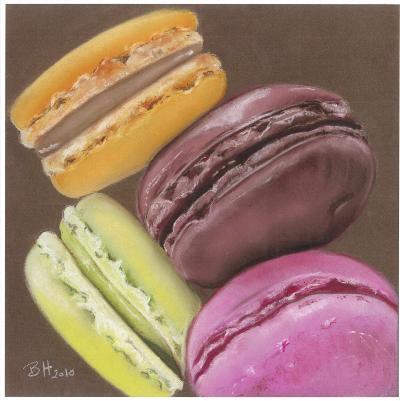 4 Macarons