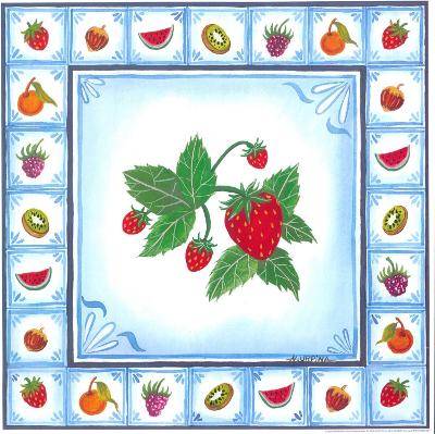 Blue Fruits III