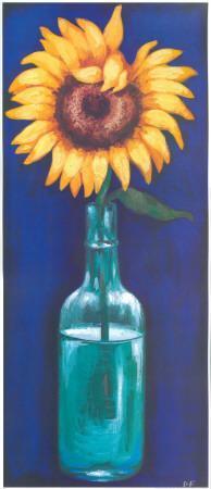 Bottled Flowers I