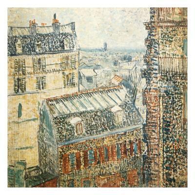 Paris Vu De La Chambre De Vincent