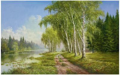 Path At The Lake