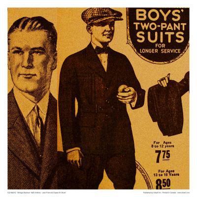Vintage Boywear 1925 (Yellow)