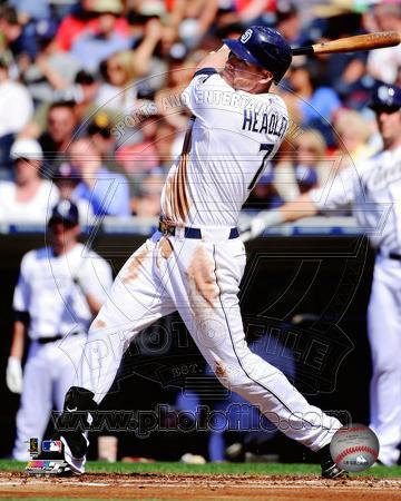 Chase Headley 2011 Action