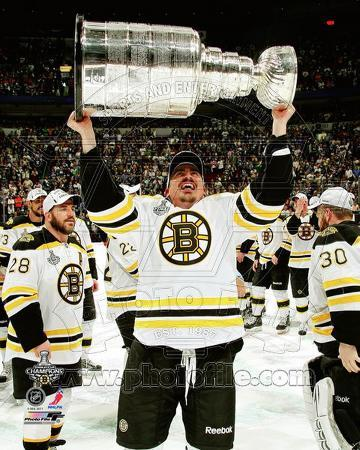 Tomas Kaberle with the Stanley Cup Game 7 of the 2011 NHL Stanley Cup Finals(#52)