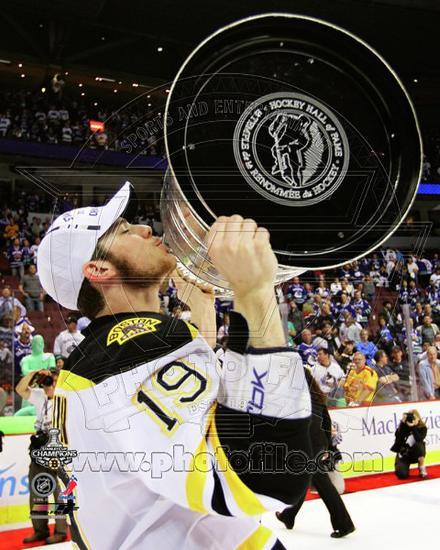 Tyler Seguin With The Stanley Cup Game 7 Of The 2011 NHL