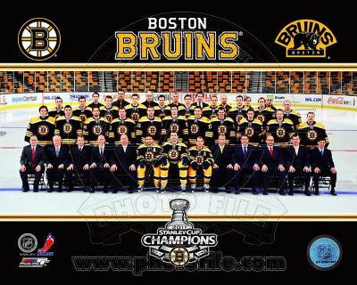 The Boston Bruins 2010-11 Team Photo