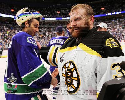 Tim Thomas & Roberto Luongo Game 7 of the 2011 NHL Stanley Cup Finals(#59)