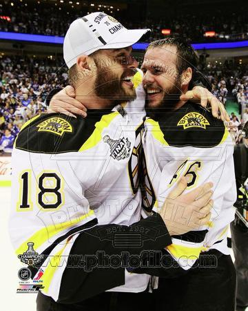 David Krejci & Nathan Horton Game 7 of the 2011 NHL Stanley Cup Finals(#58)