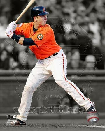Buster Posey 2011 Spotlight Action
