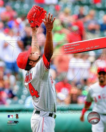 Ervin Santana No-Hitter with Overlay, July 27, 2011