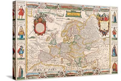 Antique Map, Nova Europa, 1652
