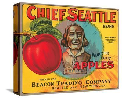 Chief Seattle Brand Wenatchee Valley Apples