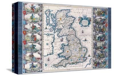 Antique Map, Britannia, Ca. 1646