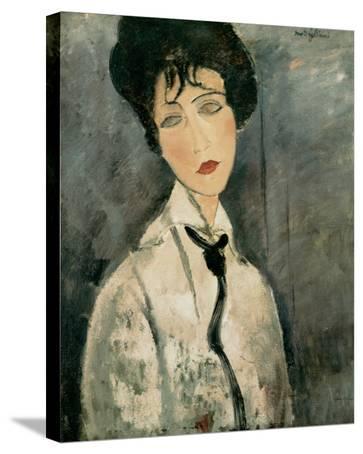 Woman in Black Tie, 1917