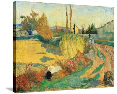 Paysage a Arles, 1888