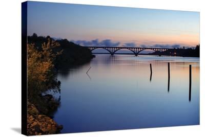 Bridge and Poles