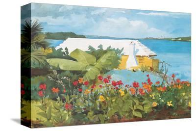 Flower Garden and Bungalow, Bermuda, c.1899