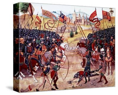 Froissart's Chronicles: Battle of Najera, 1340
