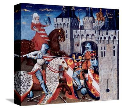 Medieval Knights at Battle