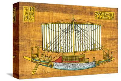 Ancient Egyptian Sailing Boat