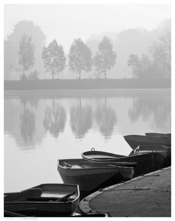 Rowboats on Shore