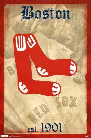 Red Sox -- Retro Logo