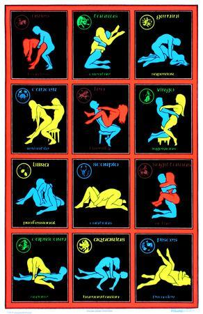 Zodiac Positions (Blacklight)