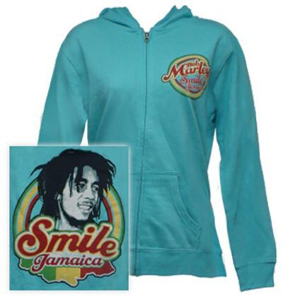 Juniors: Zip Hoodie - Smile Jamaica