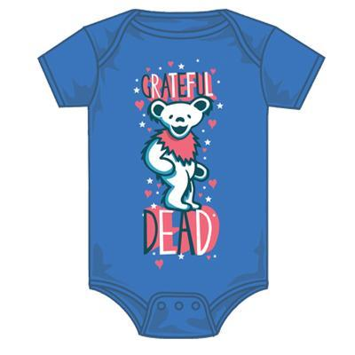 Infant: Grateful Dead - Hearts and Stars Creeper