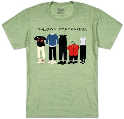 It's Always Sunny In Philadelphia - Outfits (Slim Fit)