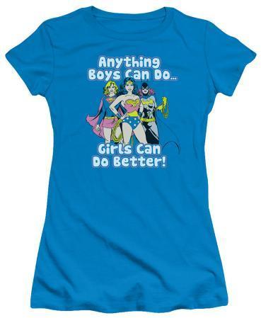 Juniors: Justice League - Girls Can Do Better