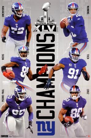 2012 Super Bowl - Champs
