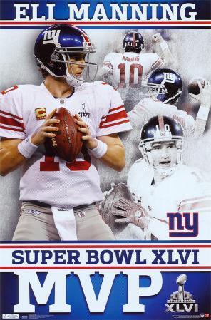 2012 Super Bowl - MVP