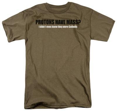 Protons Have Mass