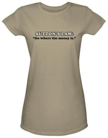 Juniors: Sutton's Law