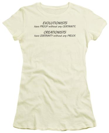 Juniors: Evolitionists Creationists