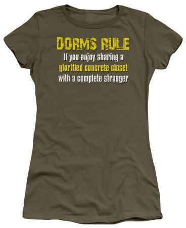 Juniors: Dorms Rule
