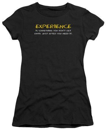 Juniors: Experience