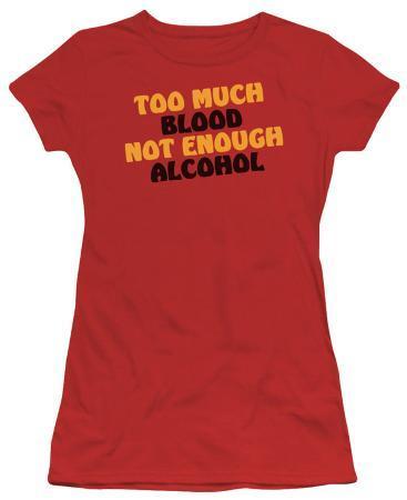 Juniors: Not Enough Alcohol