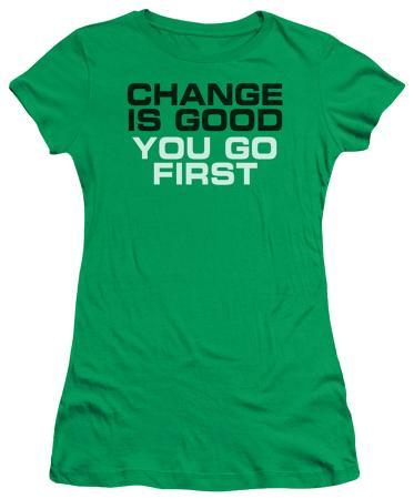 Juniors: Change is Good
