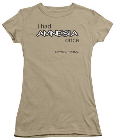 Juniors: I Had Amnesia