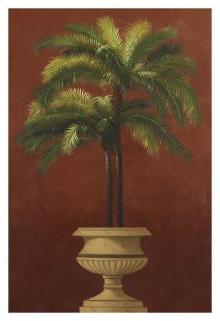 Potted Palm Red III