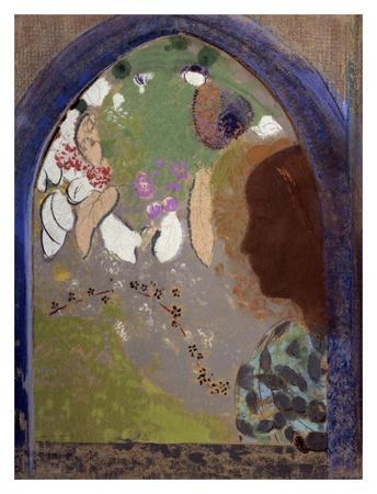 Woman's Silhouette in a Window, 1912