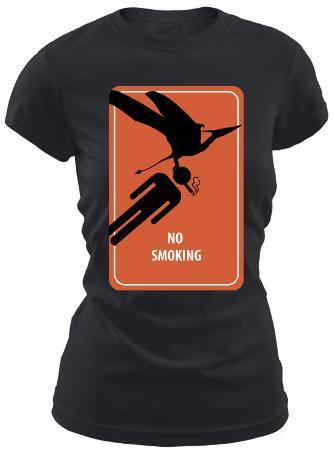 Women's: No Smoking (Slim Fit)